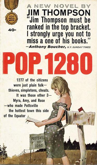 Pop. 1280 - Thompson (Fawcett/Gold Medal Books) (image)