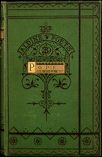 Poetical Works of Alexander Pope (Aldine Edition of British Poets) (Bell & Daldy) (image)