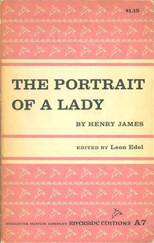 A Portrait of a Lady - H. James (Riverside Editions) (Houghton Miffflin Co.) (image)