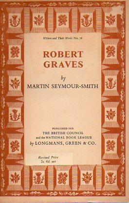 Robert Graves (by Martin Seymour-Smith) (Writers and Their Work) (image)