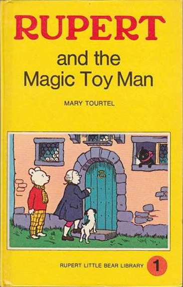 Rupert and the Magic Toy Man (Rupert Little Bear Library) (Woolworths) (image)
