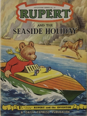 Rupert and the Seaside Holiday (Adventure Series, 18) (image)