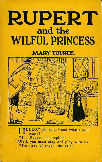 Rupert and the Wilful Princess (Rupert Little Bear Library) (Sampson Low, 1930) (image)