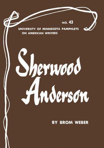 Sherwood Anderson (University of Minnesota Pamphlets on American Writers) (image)