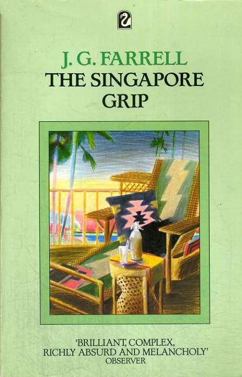 Singapore Grip - J. G. Farrell (Flamingo Books/Fontana Paperbacks) (image)