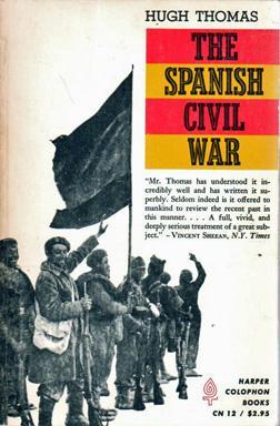 The Spanish Civil War - H. Thomas (Harper Colophon) (image)