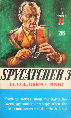Spycatcher 3 - Pinto (Four Square Books) (image)