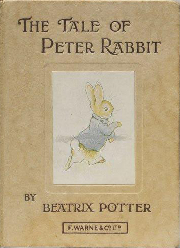 The Tale of Peter Rabbit (by Beatrix Potter) (image)