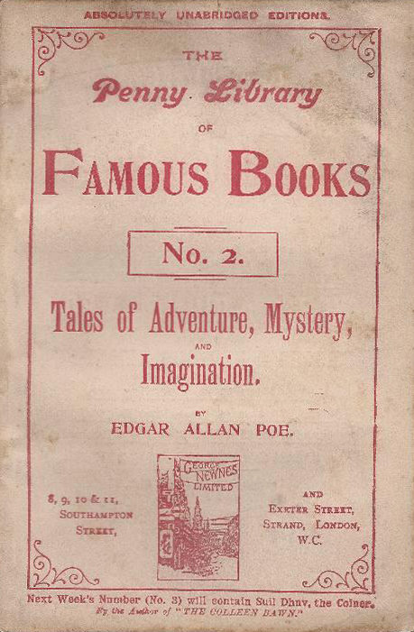 Tales... - Poe (Penny Library of Famous Books/George Newnes) (image)