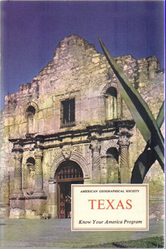 Texas (Know Your America) (American Geographical Society/Doubleday) (image)