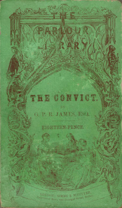 The Convict - James (Parlour Library/Simms & McIntyre) (image)