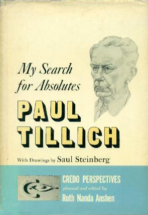 My Search for Absolutes - Tillich (Credo Perspectives/S&S) (image)