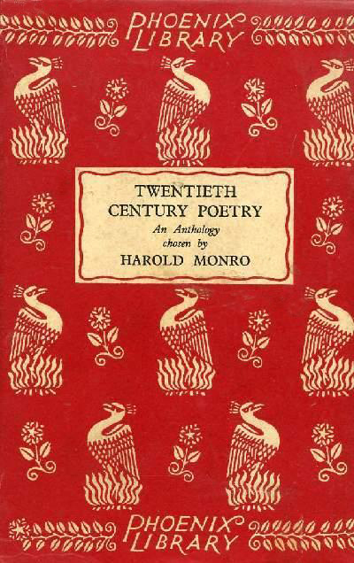 Twentieth Centry Poetry: An Anthology (Harold Monro, comp.) (Phoenix Library) Chatto & Windus) (image)