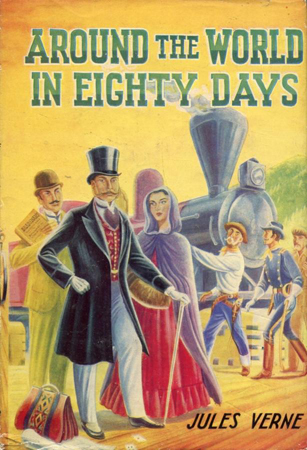Around the World in Eighty Days (by Jules Verne) (Dean's Classics) (image)