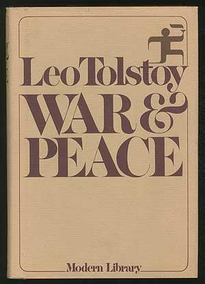 War and Peace (by Leo Tolstoy) (Modern Library Giants) (image)