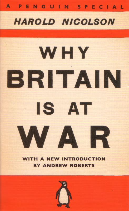 Why Britain is at War (Penguin Specials, P47) (Penguin Books, 1939) (image)