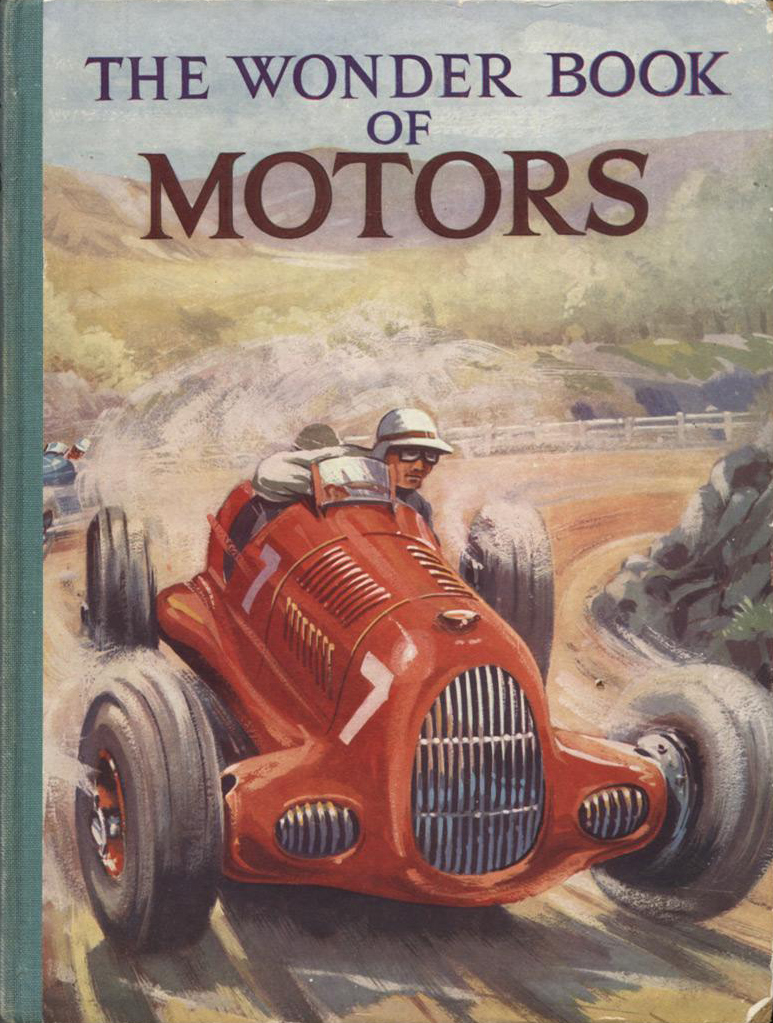 The Wonder Book of Motors (Ward, Lock) (image)