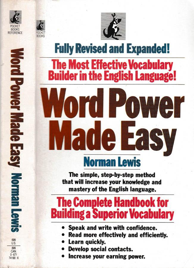 Word Power Made Easy - Lewis (Pocket Books) (image)